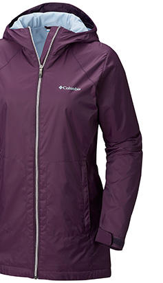 A jacket with Rain Protector technology.