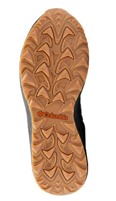 Close-up of a shoe with AdaptTrax outsole.