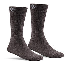 Men's Cushioned Wool Crew Sock - 2PR