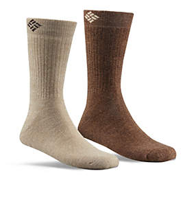 Men's Cushioned Wool Crew Sock - 2 Pack