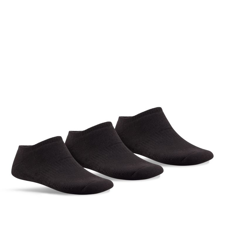 Womens Athletic-BLK | 010 | O/S Women's No-Show Athletic Sock - 3 Pack, 010, front