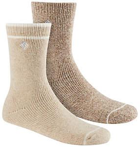 Women's Brushed Fleece Wool Socks – 2 pack