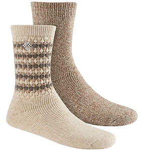 Women's Texture Wool Crew Sock