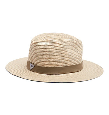 PFG Bonehead™ Straw Hat PFG Bonehead™ Straw | 121 | S/M, Natural, Sage, back