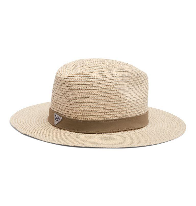 PFG Bonehead™ Straw | 121 | L/XL PFG Bonehead™ Straw Hat, Natural, Sage, back