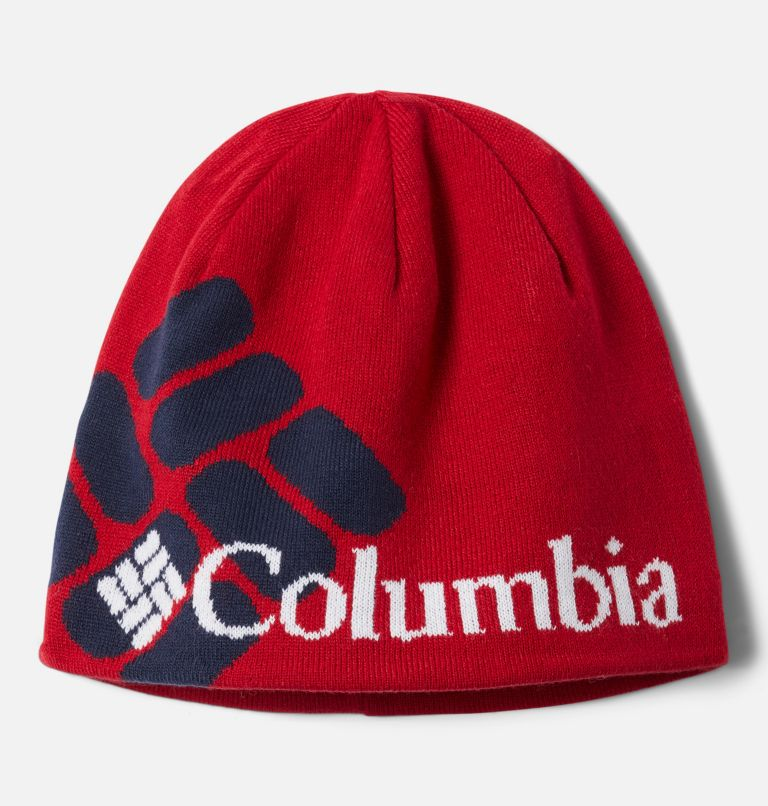 Columbia Heat™ Beanie | 613 | O/S Bonnet Columbia Heat™ Unisexe, Mountain Red, Big Gem, front