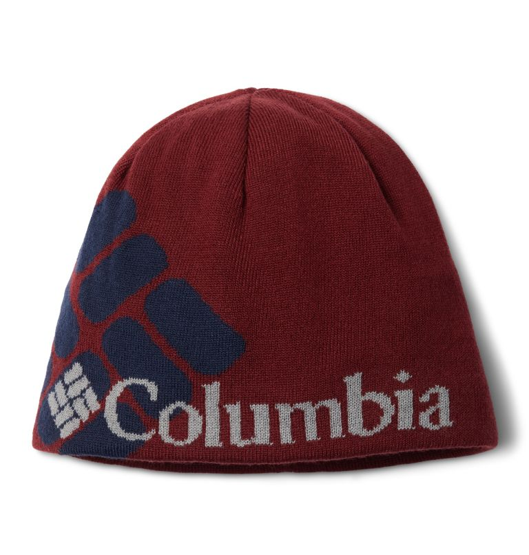 Columbia Heat™ Beanie | 664 | O/S Bonnet Columbia Heat™ Unisexe, Red Jasper, Big Gem, front