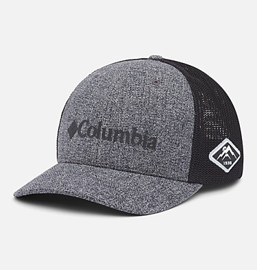Columbia Mesh™ Ball Cap Columbia Mesh™ Ballcap | 023 | L/XL, Grill Heather, Black, front