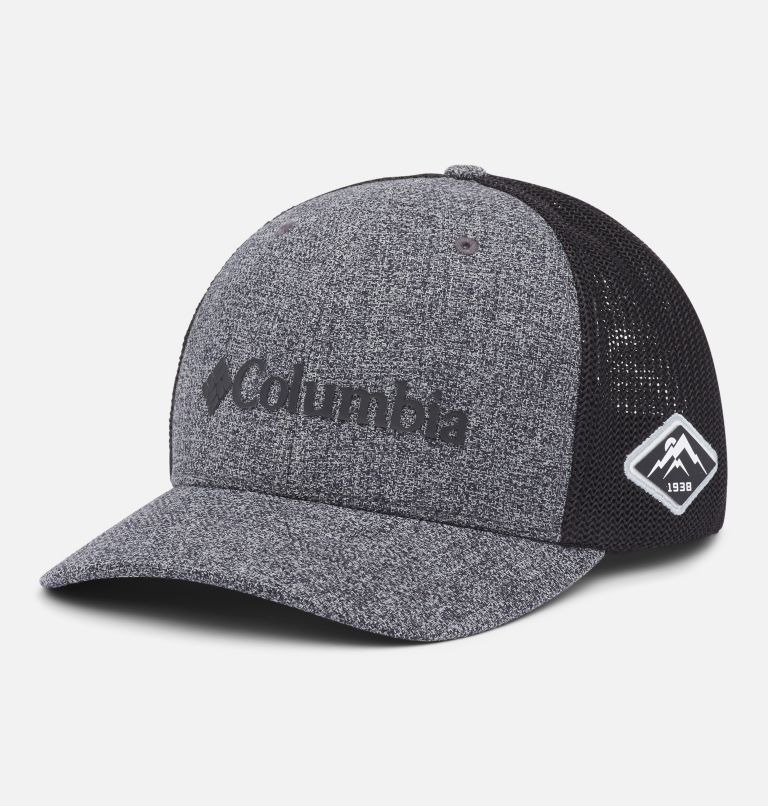 Columbia Mesh™ Ballcap | 034 | S/M Columbia Mesh™ Ball Cap, Grill Heather, Black, front