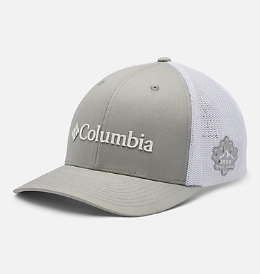 Casquette Columbia Mesh™ Columbia Mesh™ Ballcap | 214 | S/M, Columbia Grey, White, front