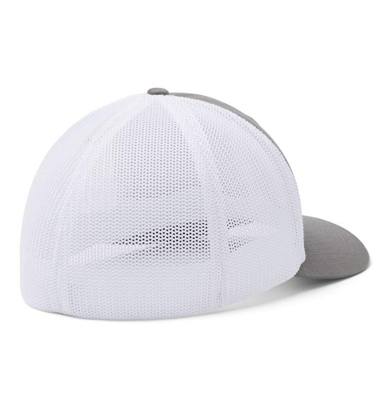 Columbia Mesh™ Ballcap | 050 | L/XL Columbia Mesh™ Ball Cap, Titanium, New Patch, back
