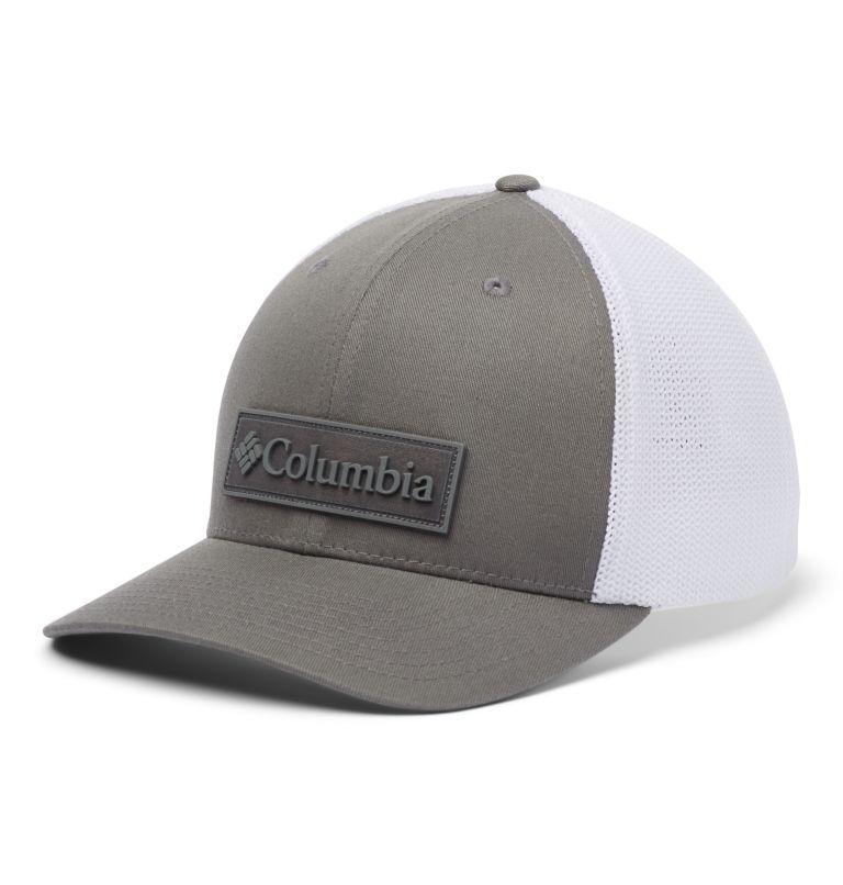 Columbia Mesh™ Ballcap | 050 | L/XL Columbia Mesh™ Ball Cap, Titanium, New Patch, front