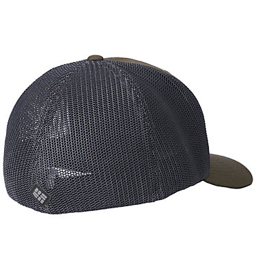 Columbia Mesh™ Ball Cap Columbia Mesh™ Ballcap | 214 | S/M, Peatmoss, Line art, back