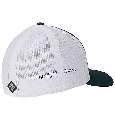 Casquette Columbia Mesh™ Columbia Mesh™ Ballcap | 214 | S/M, Dark Ivy, Line Art, back