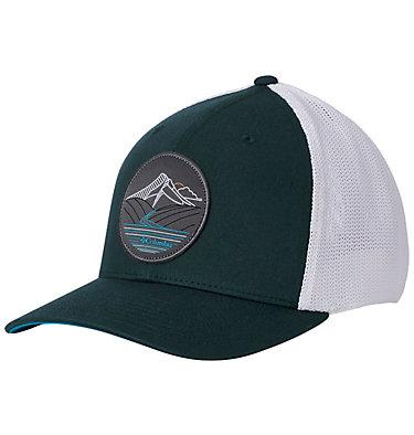 Casquette Columbia Mesh™ Columbia Mesh™ Ballcap | 214 | S/M, Dark Ivy, Line Art, front