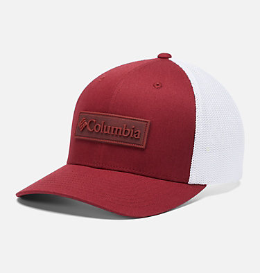 Columbia Mesh™ Ball Cap Columbia Mesh™ Ballcap | 023 | L/XL, Red Jasper, Patch, front