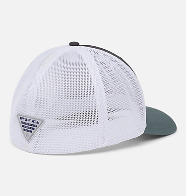 PFG Mesh™ Ball Cap PFG Mesh™ Ball Cap | 010 | S/M, Shark, White, Pond, Permit, back