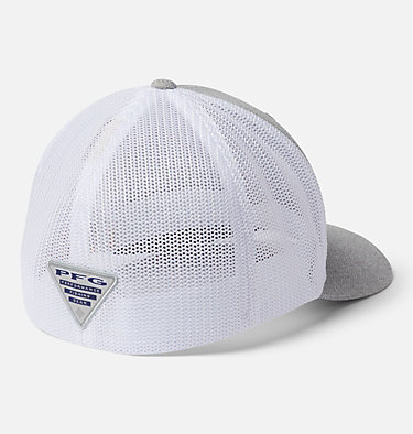 PFG Mesh™ Ball Cap PFG Mesh™ Ball Cap | 010 | S/M, Cool Grey Heather, Black, Permit, back