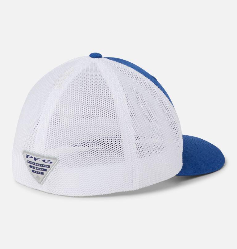 PFG Mesh™ Ball Cap | 433 | S/M PFG Mesh™ Ball Cap - USA, Mountain Blue, US Flag, back