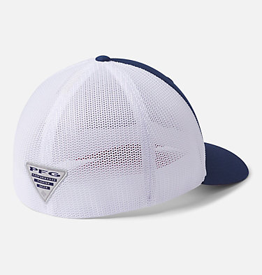 PFG Mesh™ Ball Cap PFG Mesh™ Ball Cap | 054 | L/XL, Carbon, White, Red Spark Bass, back