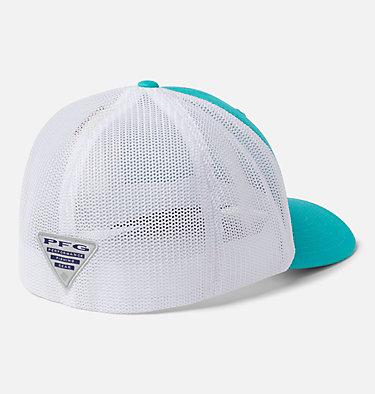 PFG Mesh™ Ball Cap PFG Mesh™ Ball Cap | 010 | S/M, Bright Aqua, White, Coll Navy, Bonefish, back