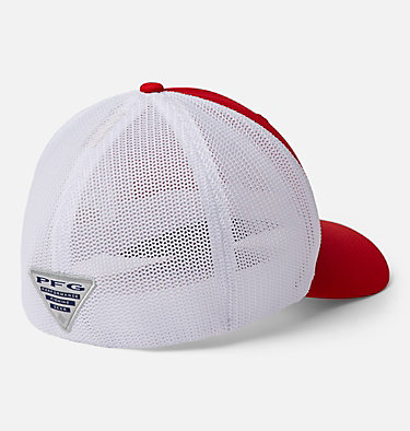 PFG Mesh™ Ball Cap PFG Mesh™ Ball Cap | 010 | S/M, Red Spark, White, Carbon, Striper, back