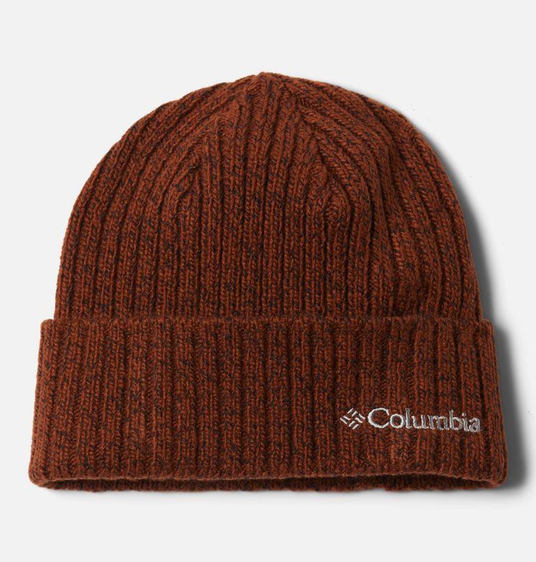 Columbia™ Watch Cap | 242 | O/S Columbia Watch Cap II, Dark Amber, Black Marled, front