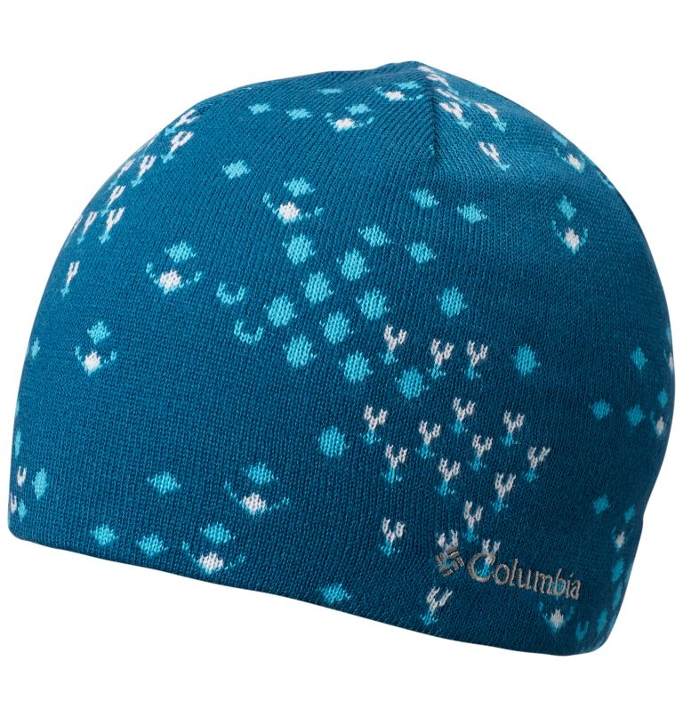 Urbanization Mix™ Beanie | 457 | O/S Urbanization Mix™ Reversible Beanie, Lagoon Fractal Snow, front