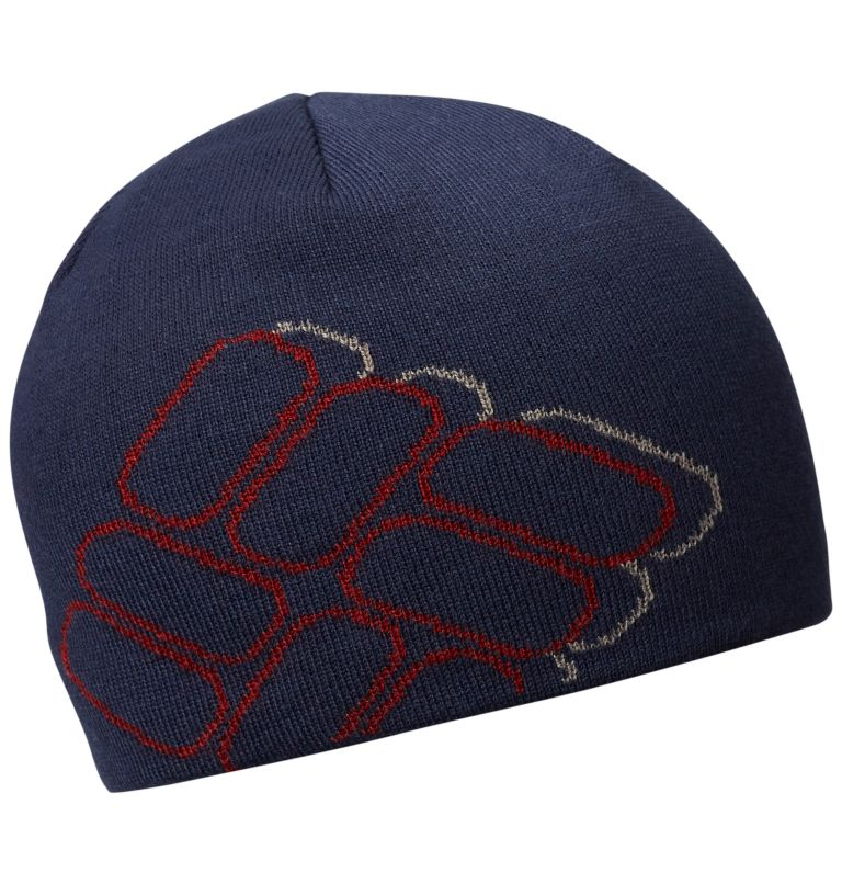 Urbanization Mix™ Beanie | 468 | O/S Urbanization Mix™ Reversible Beanie, Collegiate Navy, Shadow Logo, a1