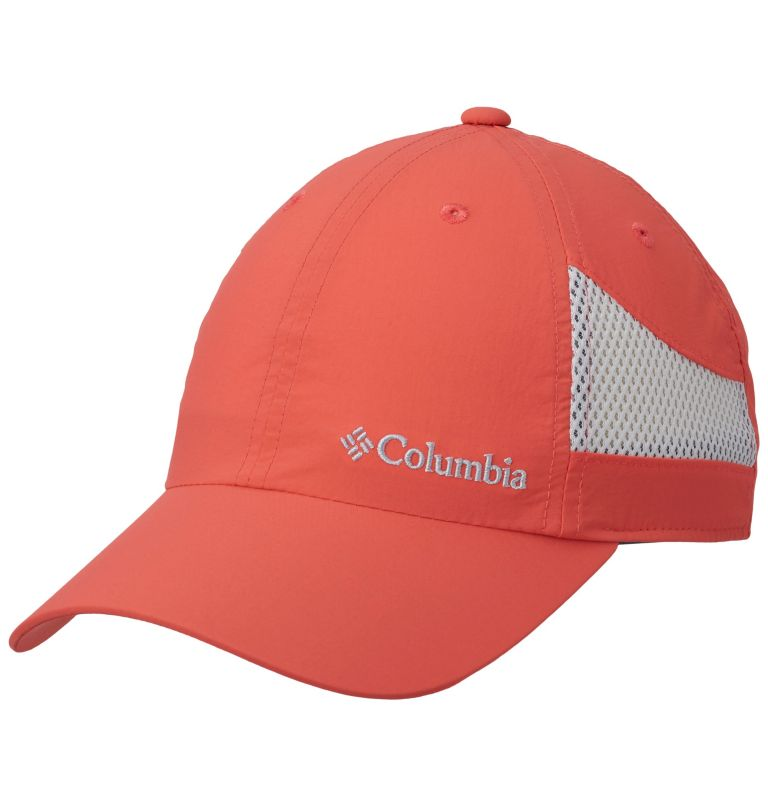 Tech Shade™ Hat | 633 | O/S Casquette Tech Shade™ Unisexe, Red Coral, front