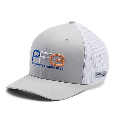 Junior Mesh™ Ball Cap Junior Mesh™ Ball Cap | 689 | O/S, Cool Grey, Vivid Blue, PFG Hook, front
