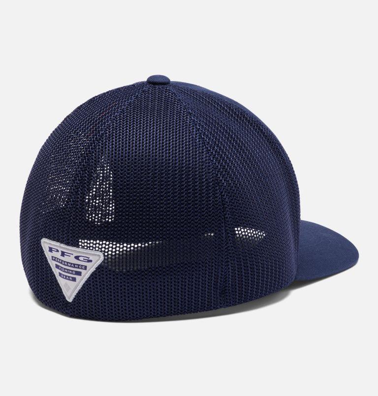 Junior Mesh™ Ball Cap | 466 | O/S Junior PFG Mesh™ Ball Cap, Collegiate Navy, US Fish Flag, back