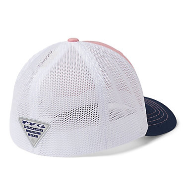 Junior Mesh™ Ball Cap Junior Mesh™ Ball Cap | 689 | O/S, Pink Orchid, Coll Navy, PFG Hook, back