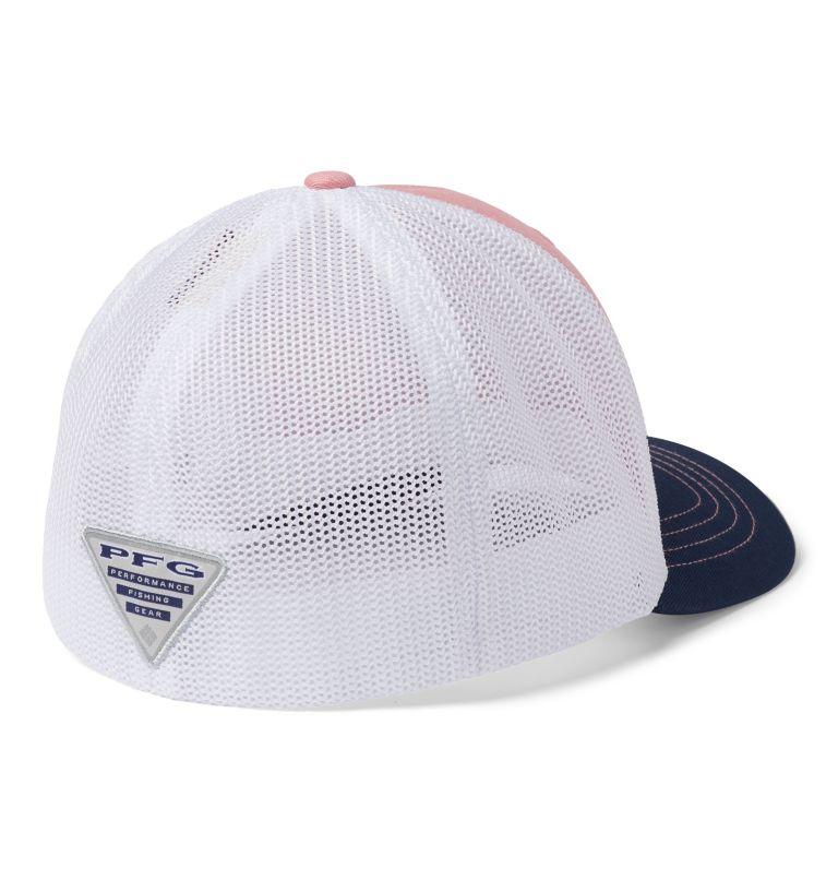 Junior Mesh™ Ball Cap | 689 | O/S Junior Mesh™ Ball Cap, Pink Orchid, Coll Navy, PFG Hook, back