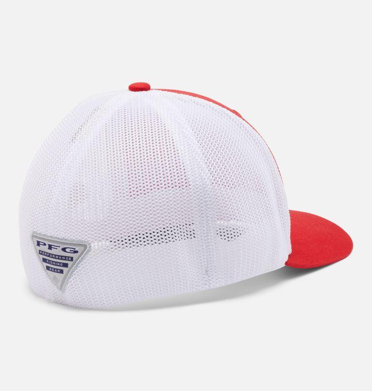 Junior Mesh™ Ball Cap | 697 | O/S Junior PFG Mesh™ Ball Cap, Red Spark, Bass, back