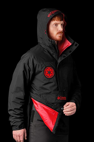 A man posing in the Challenger Jacket.