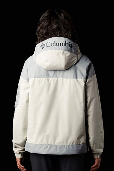 Woman modeling the Challenger Jacket.