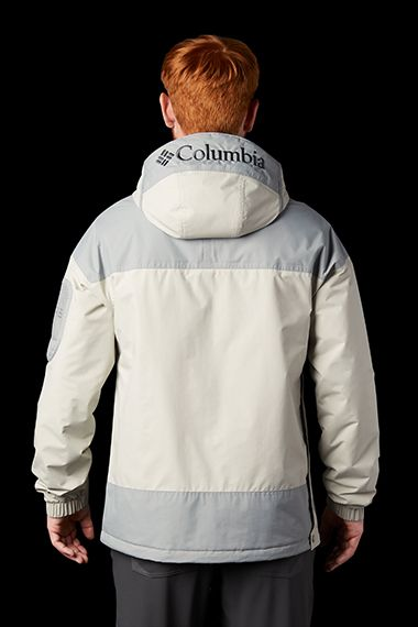 Man modeling the Challenger Jacket.