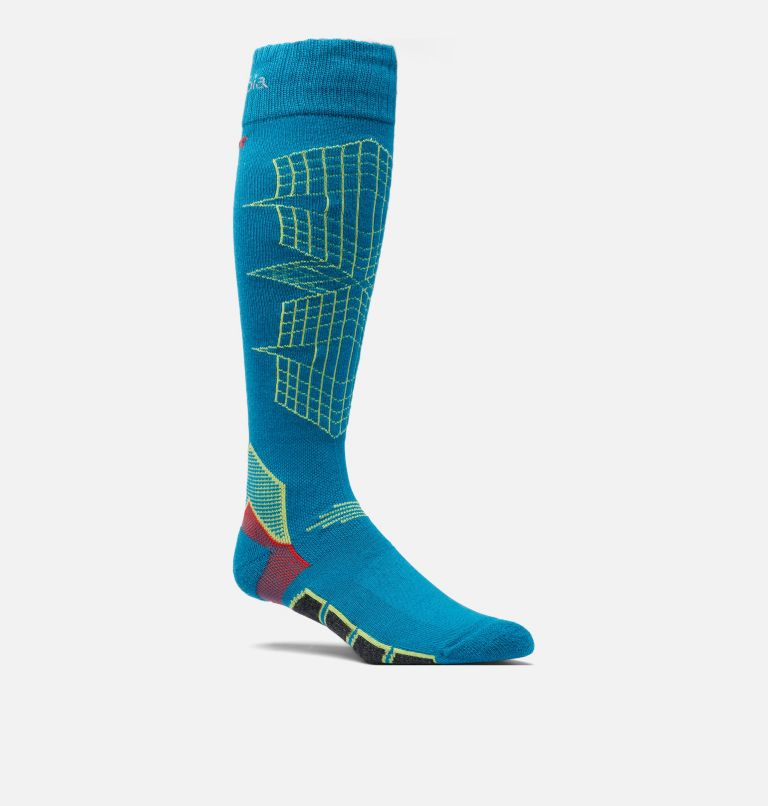 Ski Over-the-Calf Optical Grid Medium Weight Sock Ski Over-the-Calf Optical Grid Medium Weight Sock, front