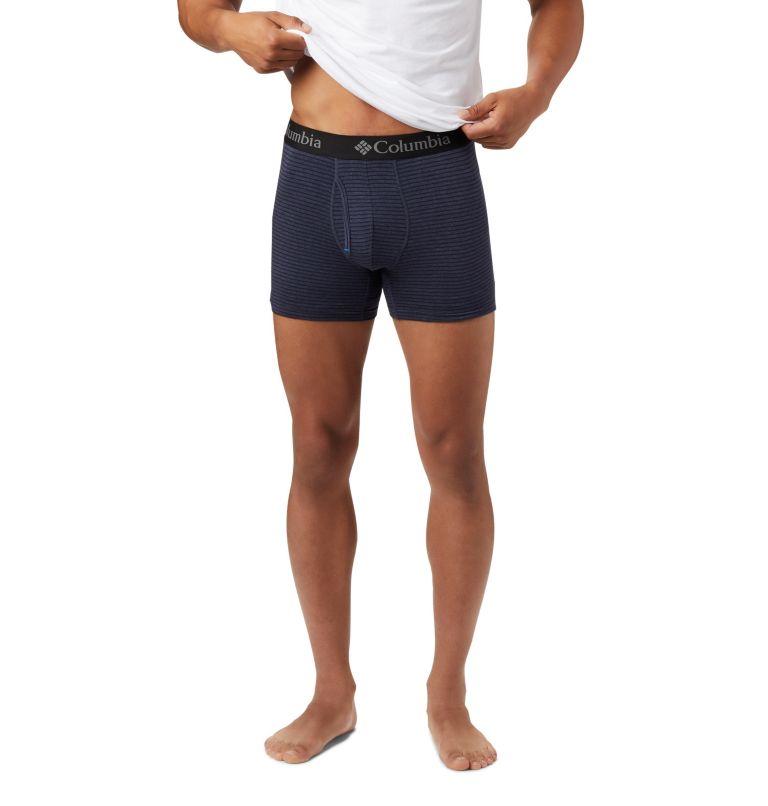 Men's Tri Blend Striped Boxer Men's Tri Blend Striped Boxer, a1