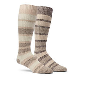 Women's Super-Soft Canyon Stripe Knee - 2 Pack