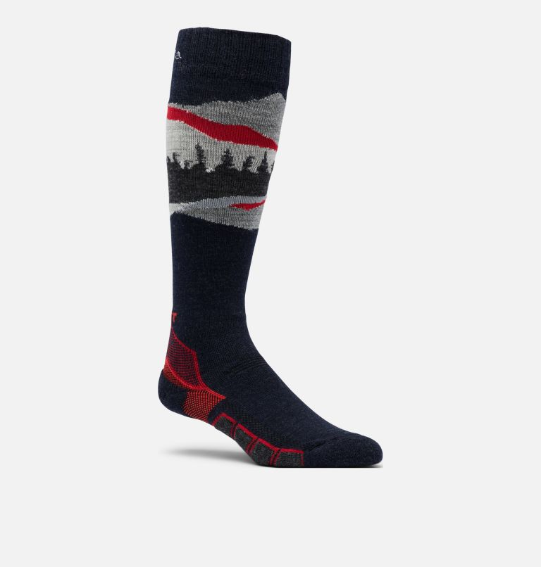 Ski Over-the-Calf NW MTN Range Medium Weight Socks Ski Over-the-Calf NW MTN Range Medium Weight Socks, front