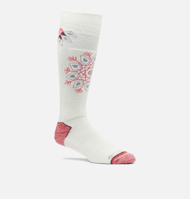 Ski Snowflakes Over-the-Calf Thermolite® MW Sock Ski Snowflakes Over-the-Calf Thermolite® MW Sock, front