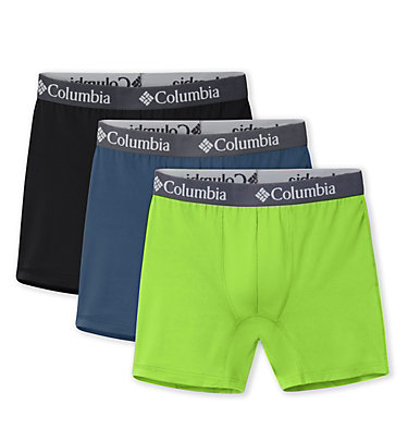 Men's Poly Stretch Boxer (3 pack) Men's Poly Stretch Boxer | 675 | S, Dark Mountain, front