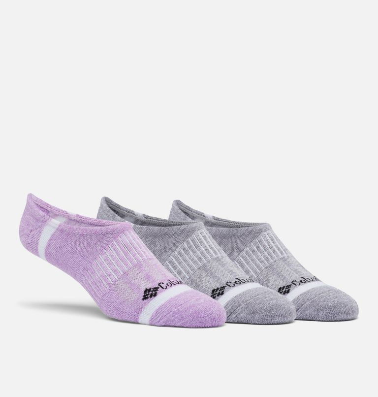 Space Dye Eclipse Liner | 553| O/S Space Dye Eclipse Liner Socks - 3 Pack, Blossom Multi, front