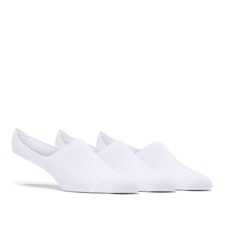 Men's PFG Basic Liner - 3 Pack   100   O/S PFG Basic Liner Socks - 3 Pack, White, front