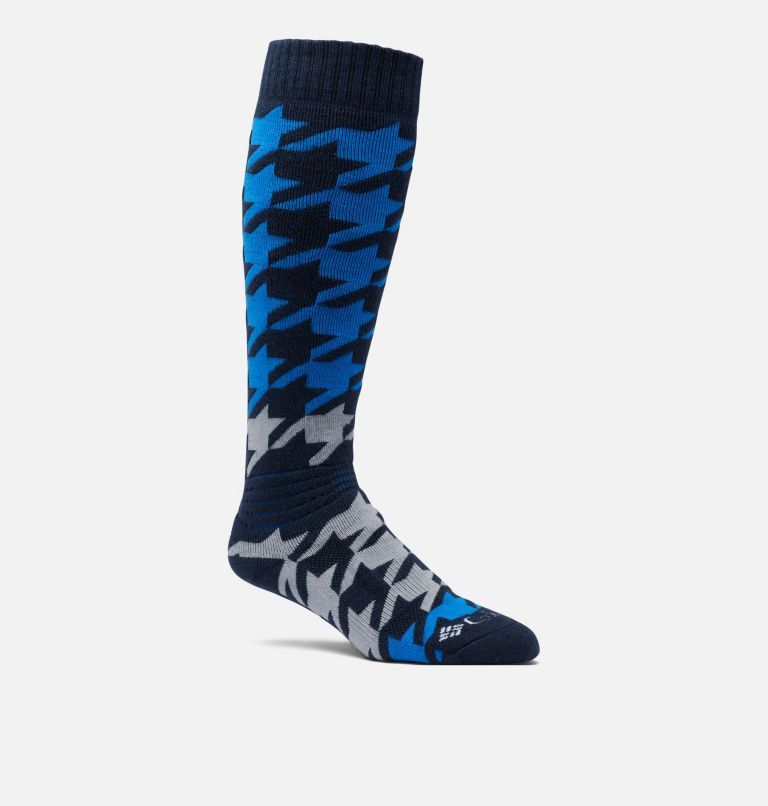 Houndstooth Over-the-Calf Snowboard Medium Weight Socks - 1 Pair Houndstooth Over-the-Calf Snowboard Medium Weight Socks - 1 Pair, front