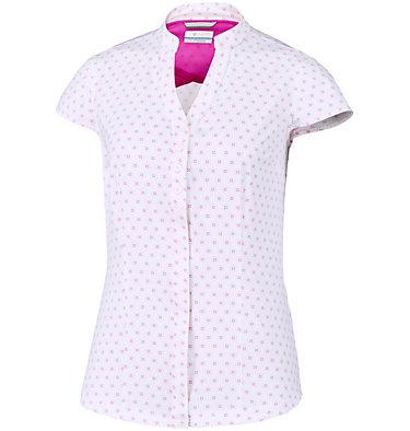 Camisa elástica de manga corta estampada Saturday Trail™ para mujer  , front
