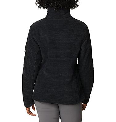Women's Fast Trek™ Printed Fleece Jacket Fast Trek™ Printed Jkt | 015 | XS, Black Spacedye Print, back