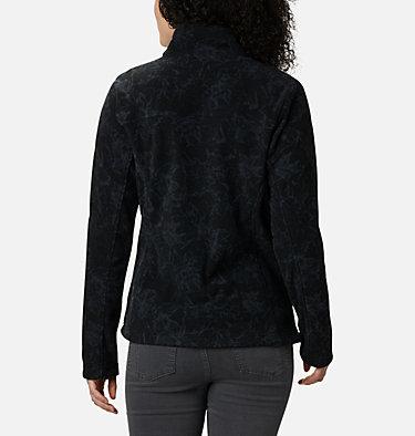 Women's Fast Trek™ Printed Fleece Jacket Fast Trek™ Printed Jkt | 015 | XS, Black Brushstroke Floral, back